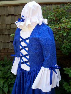 Girls Colonial Dress Williamsburg costume ready to by AshleysAttic, $55.00