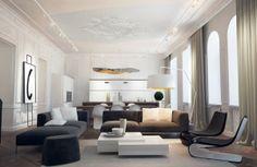 Old loft by Nikita Borisenko, via Behance