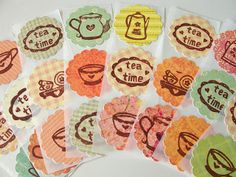 tea stickers!!!  :)