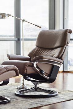 Feinstes Leder Und Unvergleichlicher Komfort Stressless Sessel Capri Mit Signature Untergestell Gleich Mal Anschauen