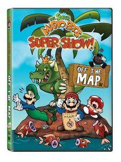Super Mario Bros. Super Show! - Off The Map (DVD, 2009) BRAND NEW