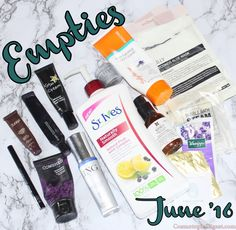 Beauty Empties June