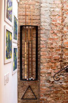 americaarquitetura   Casa América   Detalhes do aproveitamento de nichos existentes  Projeto: América Arquitetura   Foto: César Vieira