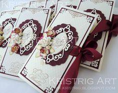Мастерская Кристины Стриги: Пригласительные для осенней свадьбы
