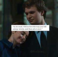 Hazel grace Lancaster and Augustus waters Star Quotes, Movie Quotes, Book Quotes, Divergent Quotes, Tfios, Fault In The Stars, Hazel Grace Lancaster, John Green Books, Augustus Waters