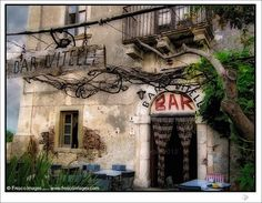 The bar of the Godfather in Sicily