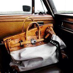 Kara Rosenlund: A Vignette Master Leather Briefcase, Leather Tooling, Tan Leather, Leather Bag Men, Kara Rosenlund, Leather Workshop, Handbags For Men, Vintage Bags, Hats For Men