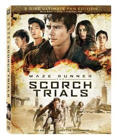 MAZE RUNNER: THE SCORCH TRIALS, available on Digital HD December 4th, and Blu-ray™ and DVD December 15th.   The Maze was just the beginning. After the harr