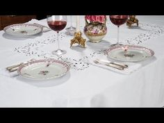 There are many ways to dress a table. Obviously, everyone knows about dressing a table with a beautiful tablecloth and napkins. Cutlery, Stemware, Plates, Silverware are all additional. Another possibility is dressing your table with a wonderful runner as a centerpiece and using Placemats and Napkins. It doesn't protect your table quite as well, but it's a beautiful look. Side tables can be adorned with doilies and other small floral displays. All this is secondary to your family and friends…