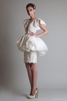 Krikor Jabotian Fall 2013 Couture — Closure Collection | Wedding Inspirasi