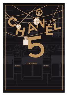 Chanel No. Coco Chanel, Chanel Art, Chanel No 5, Chanel Poster, Chanel Wallpapers, Apple Watch Wallpaper, Fashion Wall Art, Designer Wallpaper, Vintage Ads