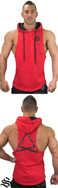 Fleck Boulder Sleeveless Hoodie - Red The ultimate Shoulder day singlet has been created and its just waiting for you! A highly flattering shape that is built to emphasise your upper mass. │gym wear │fitness wear │fitness clothing │fitness │outfits │workout dress │gym outfits │workout outfits │T-shirt │sweater │sleeveless #gymwear #fitnesswear #fitnessclothing #fitness #outfits #workoutdress #gymoutfits #workoutoutfits #t-shirt #sweater #sleeveless #clothesthatflatteryou