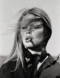 Brigitte Bardot in Spain (© Terry O'Neill)