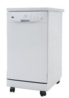 $475 Prime Shipping. SPT SD-9241W Energy Star Portable Dishwasher, 18-Inch, White SPT http://www.amazon.com/dp/B00EHLM7MW/ref=cm_sw_r_pi_dp_YK1Fvb0D0A71P