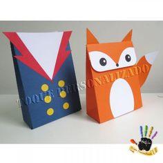 Toque Personalizado - Caixa bag - Pequeno Príncipe