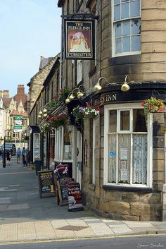 Alnwick, Northumberland, England. I am now here having a great time with plenty of money and time to spend enjoying the sights and finding my ancestary!