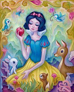 Branca de Neve e a maçã