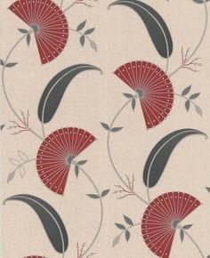 Graham & Brown Superfresco Vliestapete Poise 30-422 Floral modern creme rot von Poise, http://www.amazon.de/dp/B005GOXO4O/ref=cm_sw_r_pi_dp_UFDYrb0DRPXNC