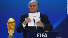 Welcome to NewsDirect411: Breaking News: Sepp Blatter Re-Elects As FIFA Pres...