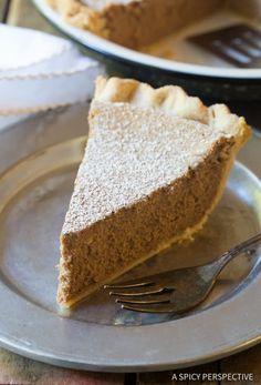 The Best Cinnamon Pie Recipe   ASpicyPerspective.com