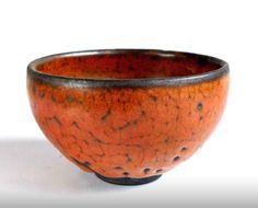Ceramics by Tony Yeh - gorgeous orange bowl