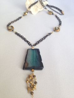 AFTER CHRISTMAS SALE! TAKE 15% OFF ALL THE BEAUTIFUL JEWELRY IN THE SHOP. PLEASE USE CODE (TAKE15) FROM 12/26/2013 - 12/31/2013 ENJOY SHOPPING!  One Of A Kind Custom Designed Handmade Necklace by RitaBDesigns, $75.00
