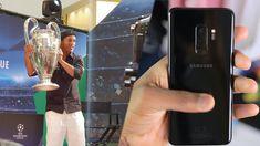 MEETING RONALDINHO! Galaxy Samsung S9 Plus Camera Test https://youtu.be/YBvPPiqLftk