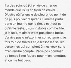 Neon Quotes, Mood Instagram, Messages For Him, French Quotes, Bad Mood, Describe Me, Feeling Sad, Decir No, Quotations