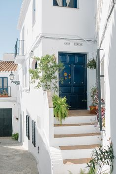 A traditional Andalusian house in Frigiliana.