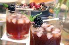 Blackberry Ginger shrub 4 c fresh blackberries 2 Tbl grated fresh ginger 1 c white balsamic vinegar 1 c cider vinegar 2 c sugar
