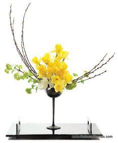 Nogeiri Ikebana Ikebana Arrangements, Creative Flower Arrangements, Ikebana Flower Arrangement, Beautiful Flower Arrangements, Floral Arrangements, Deco Floral, Arte Floral, Floral Design, Exotic Flowers