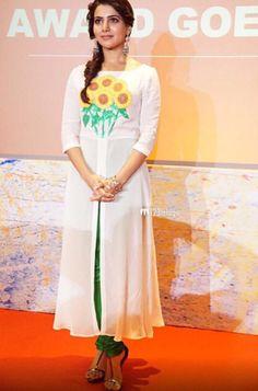 Top Indian fashion and lifestyle blog: Samantha Ruth Prabhu in Surendri