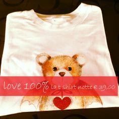 la nostra t shirt notte