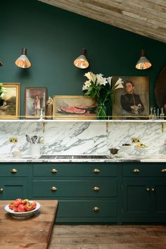 Pop of Color in the kitchen... – Greige Design