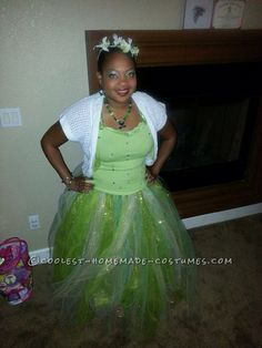 Cool Adult Princess Tiana Costume... This website is the Pinterest of costumes