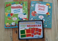 NÁSOBILKA - 3dmamablog Office Supplies, Retro, Children, Young Children, Boys, Kids, Retro Illustration, Child, Kids Part