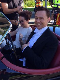Felicity Jones & Tom Hiddleston