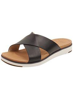 ec6dad88ecb44b UGG Women s Kari Cayenne Leather Sandal