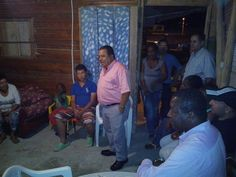 Jhon Jairo Arias de visita en Villasantana