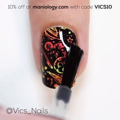 New Nail Art 2019 💄😱 The Nail Stamping nail stamping video New Nail Art, Cute Nail Art, Nail Art Diy, Beautiful Nail Art, Diy Nails, Cute Nails, Best Nail Art Designs, Nail Art Designs Videos, Nail Art Videos