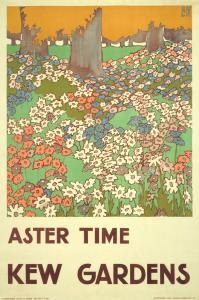I have the 1920's Kew Gardens Wisteria poster; I'd like this one too!