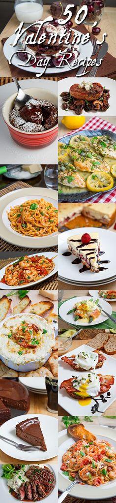50 Valentine's Day Recipes