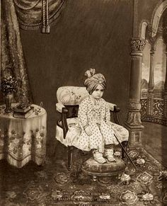 Maharaja Kishen Singh, 1900