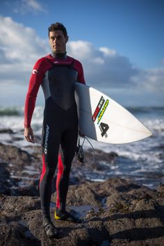Our very own team rider Tom Butler wearing one of our wetsuits | Urban Beach | http://www.urbanbeach-surf.co.uk/