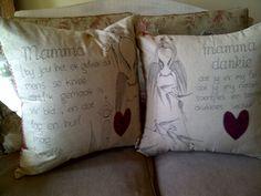 Mamma Cushions Afrikaans, Needlework, Scrapbooking, Cushions, Throw Pillows, Projects, Shop, Crafts, Summer
