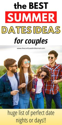 55 Unique Summer Date Ideas For Any Budget, fun summer date nights that are cheap or free for couples, best summer date night for a little adventure or a simple evening towards the end of summer, new summer date ideas for teens or those in relationships, casual summer date ideas for couples Free Date Ideas, Unique Date Ideas, Romantic Date Night Ideas, Cheap Date Ideas, Date Ideas For New Couples, Day Date Ideas, Romantic Dates, Summer Activities For Toddlers, Couple Activities