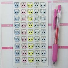 Kawaii Scale Stickers