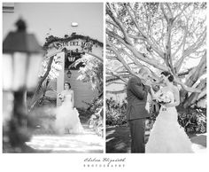 Santa Barbara Biltmore Four Seasons Wedding | Chelsea Elizabeth Photography  Black and white elegant first glance moment