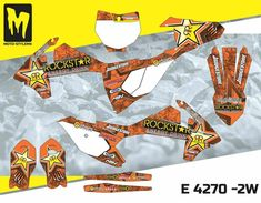 SX 85 2018 up to 2019 graphics decals kit Moto StyleMX Mx Bikes, Dirtbikes, Motocross, Honda, Decals, Graphics, Kit, Stickers, Ebay