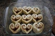 Valentine's Day - 14 days of love breakfast! I made these last year they are great and easy and fun!